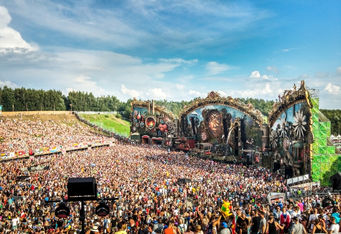 Tomorrowland 2014 Stage